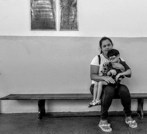 Raquel Alves e filho