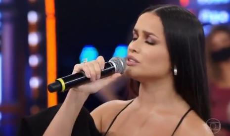 Juliette canta 'Deus me Proteja' no palco do Domingão do Faustão; veja -  Portal T5